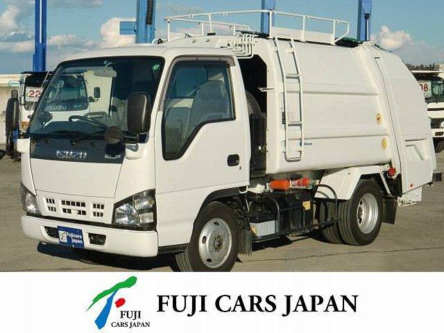 いすゞ エルフトラック プレス式パッカー 塵芥車 4.2立米 積載2t