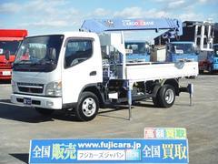 キャンター5.2D タダノ4段クレーン 5MT ラジコン Rジャッキ