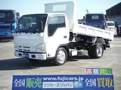 エルフトラック2t 全低床 3.0DT 強化ダンプ 5MT 極東開発