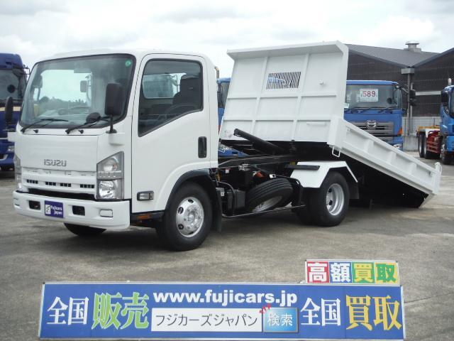 いすゞ ローダーダンプ 積載3.6t 5.2D 新明和 ワイドボディ