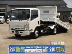 エルフトラック5.2D 6速 ローダーダンプ 新明和 積載3,650kg