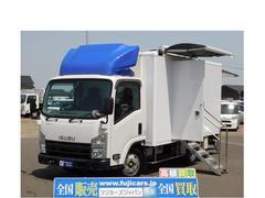エルフトラック移動スーパー 移動販売車 冷蔵ショーケース AT 後方カメラ