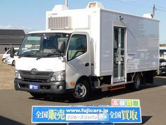 ダイナトラック移動スーパー 冷凍・冷蔵ショーケース 札幌ボデー工業製