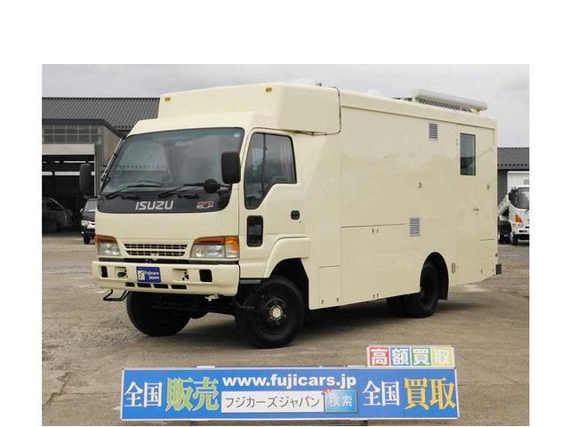 いすゞ エルフトラック ヨコハマモーターセールス 4.6D 4WD キャンピング登録