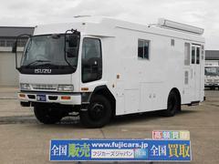 フォワード元災害対策車 4WD 5速 発電機 8ナンバー普通免許運転可