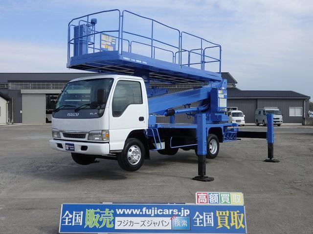 いすゞ 高所作業車 スーパーデッキ タダノ製AT-150S