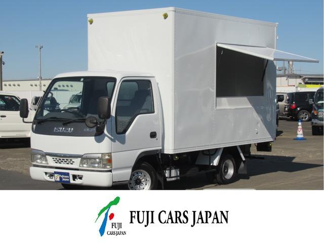 いすゞ エルフトラック 移動販売車 キッチンカー フードトラック 新規製作 適合車両