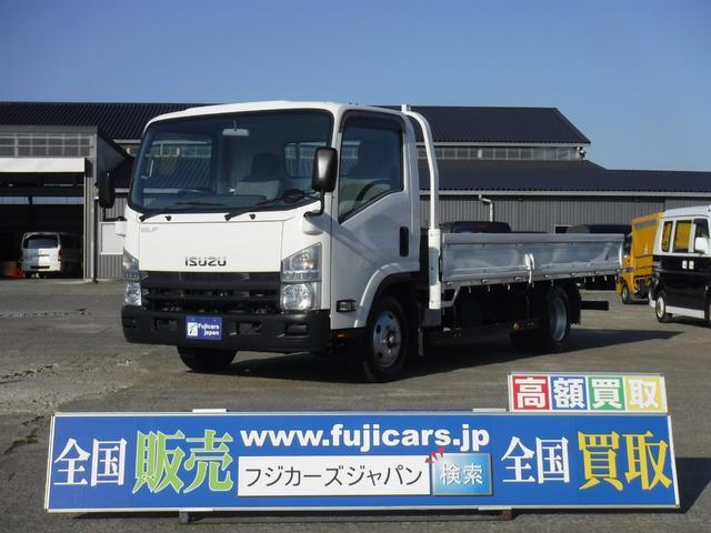 いすゞ エルフトラック ワイドロング2t全低床 三方開 3.0DT 5MT