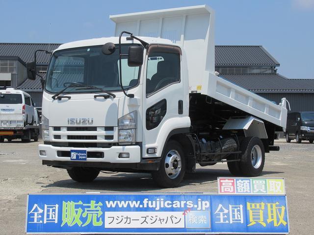いすゞ 強化ダンプ いすゞフォワード 強化ダンプ積載3.6t5.2D 6F 手動シート