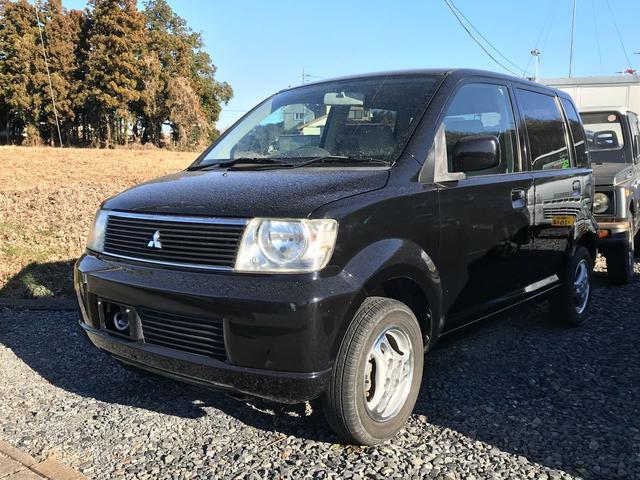 三菱 M 4WD キーレス ブラック CD MD ベンチシート
