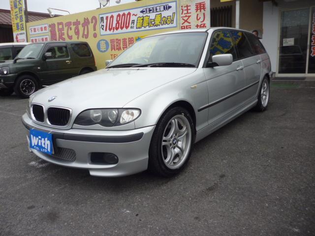 BMW 318iツーリング Mスポーツエアロ社外ナビサンルーフETC