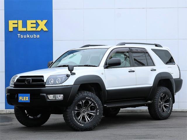 トヨタ SSR-G ブラックホワイト2トーン 新品カスタム 新品FLEXオリジナルリフトUPコイル 新品灯火類 新品BFG ATタイヤ 新品ジャベリンAW