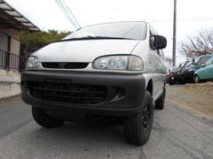デリカスペースギアガソリン 4WD 4AT マットブラック ジオランダ—