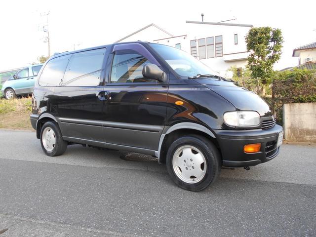 日産 セレナ  1996年式 C23 4WD 4AT KITAKITSUNE マットブラック
