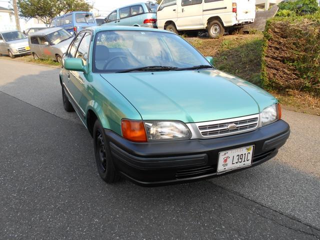トヨタ  1996年式 EL51 3AT AX SPECIAL LIGHTGREEN マットブラック