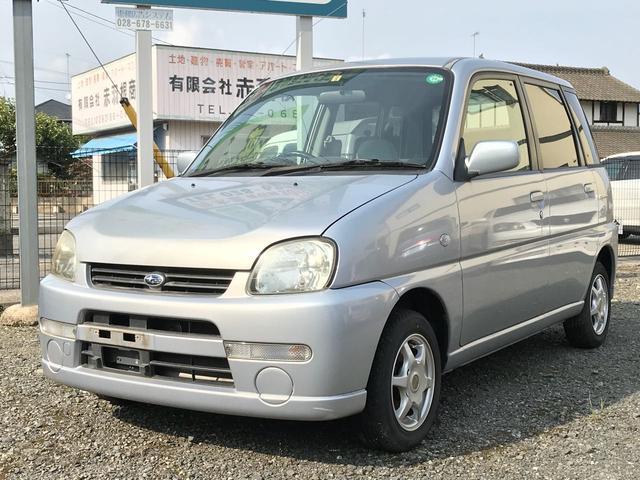 スバル F CD 衝突安全ボディ シルバー 軽自動車 CVT