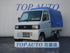 クリッパートラックSD 1オーナー 4WD 5速MT 幌付き エアコン