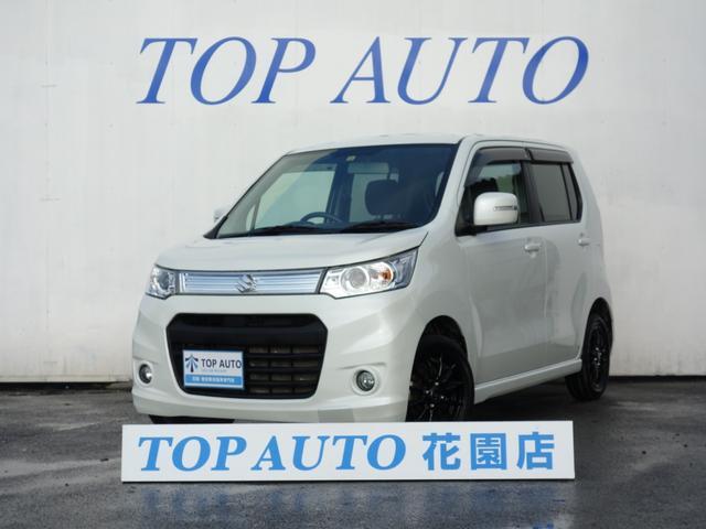 スズキ ワゴンRスティングレー T ターボ ナビ ETC テレビ ...