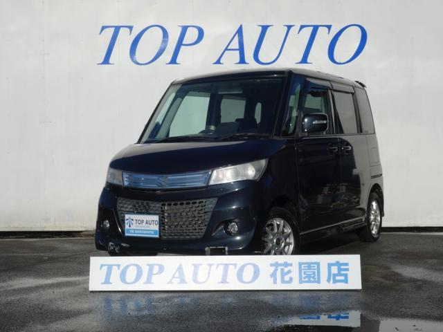 スズキ パレットSW XS 4WD 電動ドア ETC HID シー...