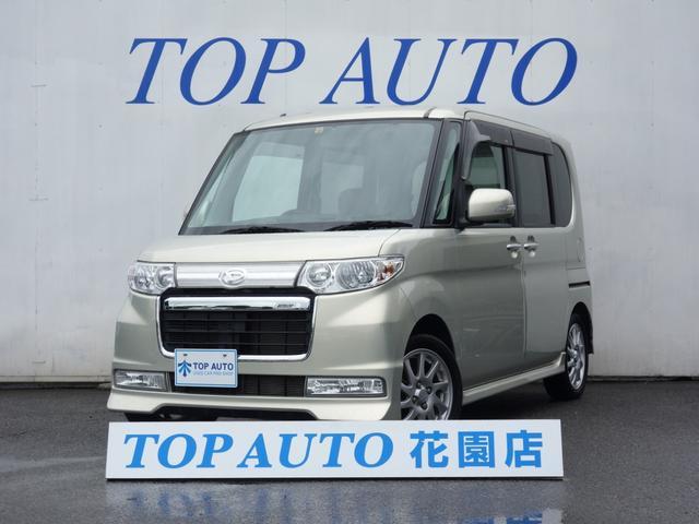 ダイハツ タント カスタムRS 4WD ターボ ナビ 電動…