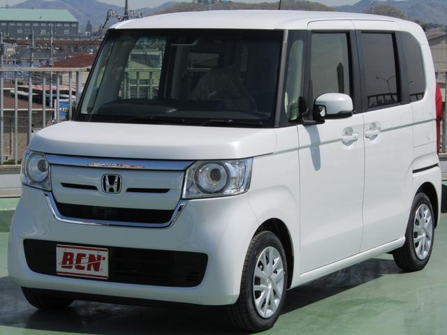 ホンダ N-BOX G・EXターボホンダセンシング 届出済み未使用車 両パワスラ