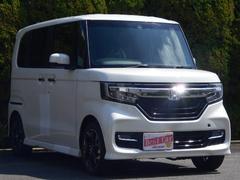 N BOXカスタムG・Lターボホンダセンシング 登録済未使用車 両側パワスラ