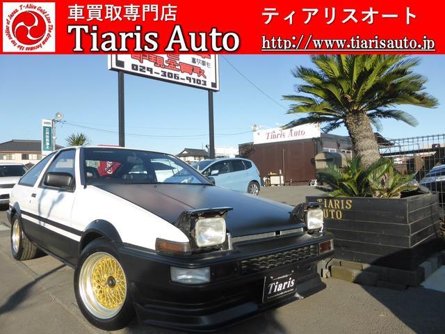 トヨタ GT-V/5MT/レイズAW/RSRマフラー/FRタワーバー