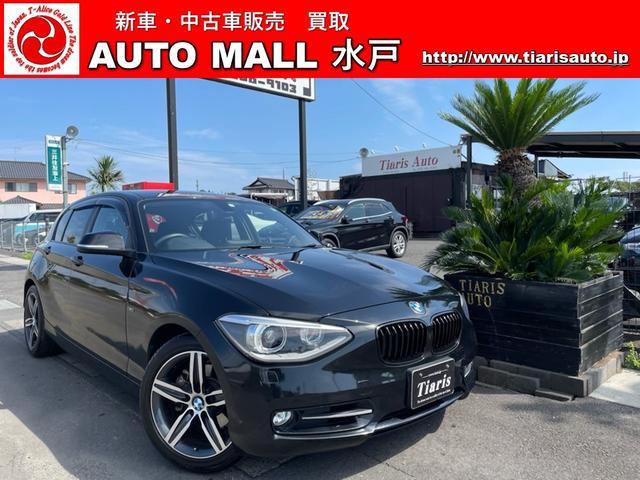 BMW 1シリーズ 120i スポーツ ナビ 純正AW ETC オートライト CD パワーシート スマートキー CVT