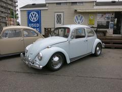 VW ビートルナロードビーム ポルシェクロームホイール ターボマフラー