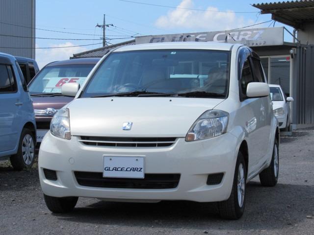 トヨタ パッソ X イロドリ キーレス 純正SDナビ 社外アルミ