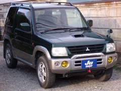 パジェロミニV4WDターボ リアスポイラー キーレス付