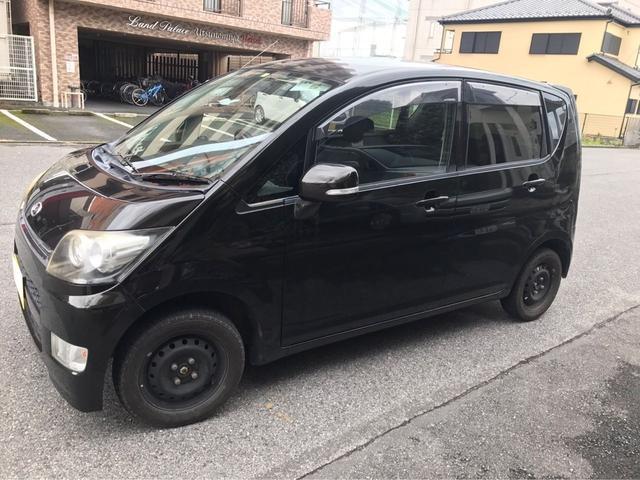 ダイハツ カスタム X ナビ 軽自動車 スマートキー CD ABS