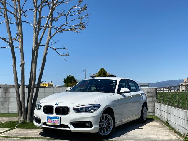 BMW 118i ディーラー車 ターボ ドライブレコーダー i-draiveHDDナビ Bluetoothオーディオ カラーバックカメラ Bi-Xenonヘッドライト スマートキー 禁煙車 ランフラットタイヤ