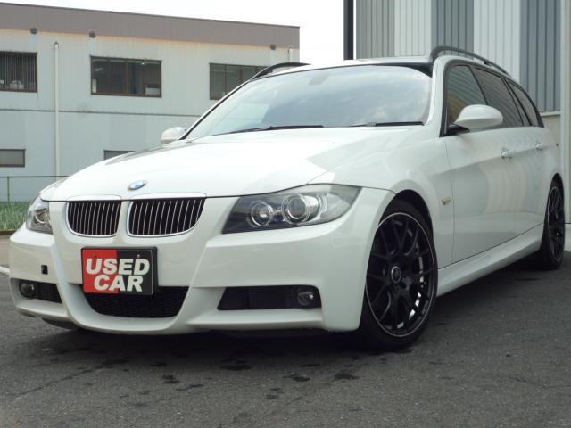 BMW 325iツーリング MスポーツPKG SR HDDナビ地デジ