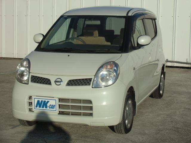 日産 モコ E スマートキー オートエアコン 4スピーカー 純正デッキ ヘッドライトレベライザー