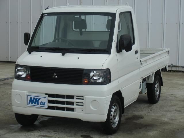 三菱 Vタイプ 5速マニュアル車 3方開 荷台マット付き