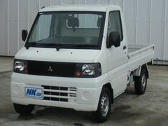 ミニキャブトラックVタイプ 5速マニュアル車 3方開 荷台マット付き