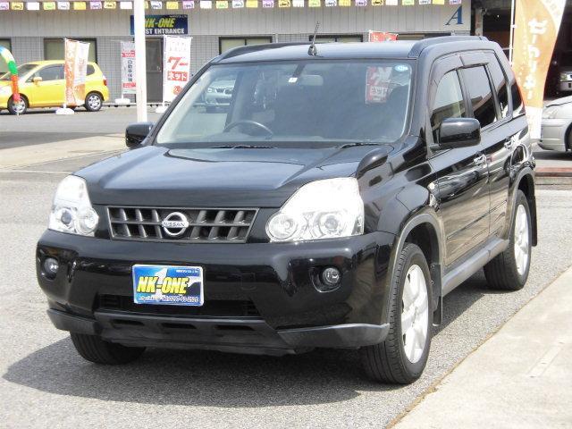 日産 20Xtt 切替式4WD Tチェーン シートヒーター ナビ