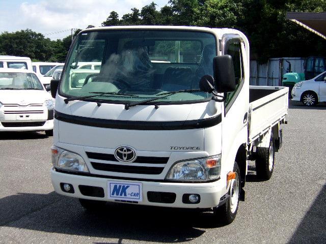 トヨタ トヨエース ロングシングルジャストロー ディーゼル ターボ 保証1年付 5MT キーレス 最大積載量1450kg レンタアップ車 フォグランプ