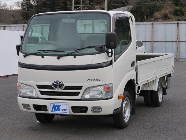 トヨタ ダイナトラック ロングシングルジャストロー 集中ドアロック フォグランプ ドアバイザー 最大積載量1500kg ダブルタイヤ