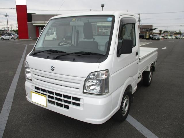 スズキ KCエアコン・パワステ 4WD 5速 3方開 ドアバイザー