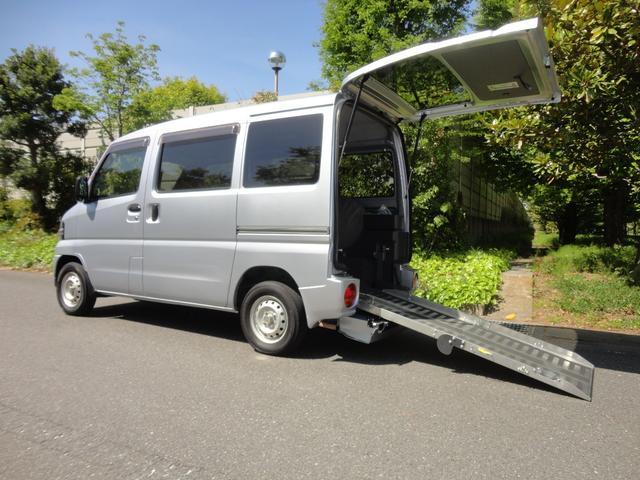 三菱 ミニキャブバン CL 福祉車両 スローパー
