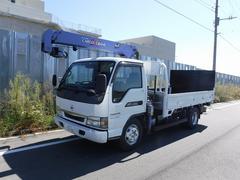 アトラストラック3段ラジコンクレーン パワーゲート付き 積載3.5t
