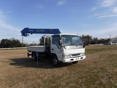 エルフトラック2t ワイドロング タダノ 6段ラジコンクレーン