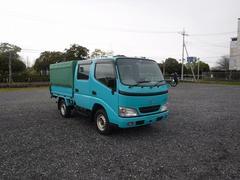 ダイナトラックAT Wキャブ 積載900kg 幌付き 4WD