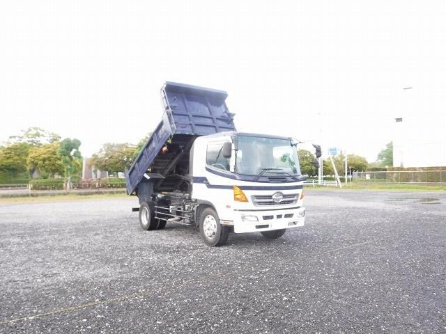 日野 増トンダンプ 積載7800kg ターボ 電動コボレーン