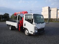 エルフトラック積載1.55t 標準ロング 3段クレーン ラジコン