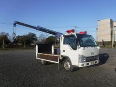 タイタントラック荷台内架装クレーン パワーゲート付き 平ボディ
