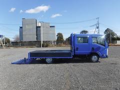 エルフトラックWキャブ 1.65t 標準ロング パワーゲート 平ボディ