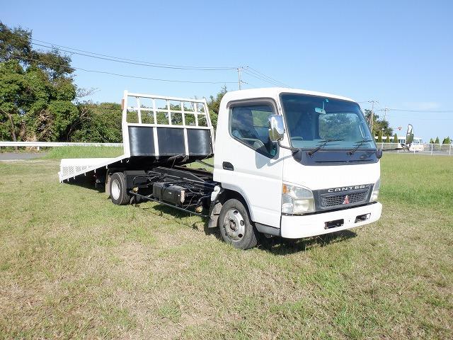 三菱ふそう 積載2t ワイド超ロング 一般型セーフティーローダー 積載車